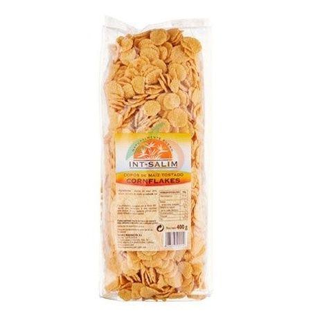 Cornflakes copos de maíz tostado 400 gramos int-salim