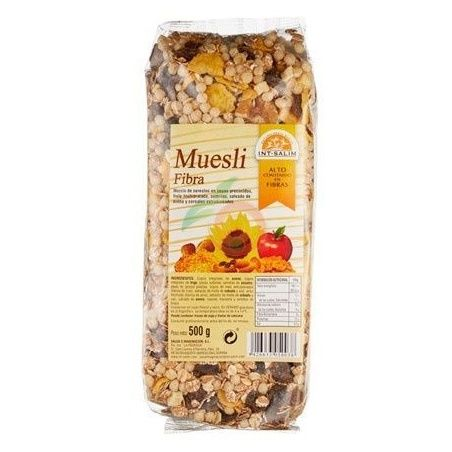 Muesli fibra 500 gramos int-salim