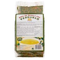 Sopa de sémola con verduras 500 gramos int-salim