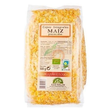Copos de maíz precocidos eco 500 gramos int-salim