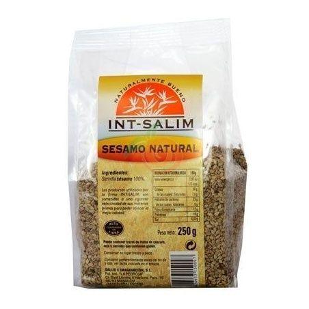 Sésamo natural 250 gramos int-salim