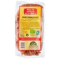 Macarrones de espelta eco 250 gramos int-salim