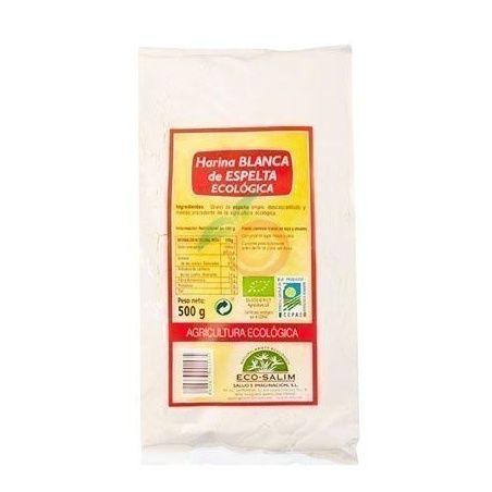 Harina de espelta blanca eco 500 gramos int-salim