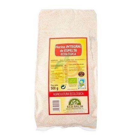 Harina integral de espelta eco 500 gramos int-salim