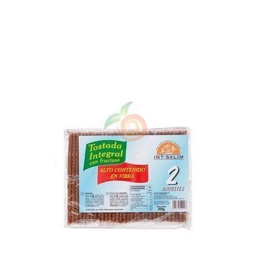 Tostada integral con fructosa 300 gramos int-salim
