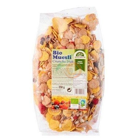 Muesli crujiente fruits bio 250 gramos int-salim