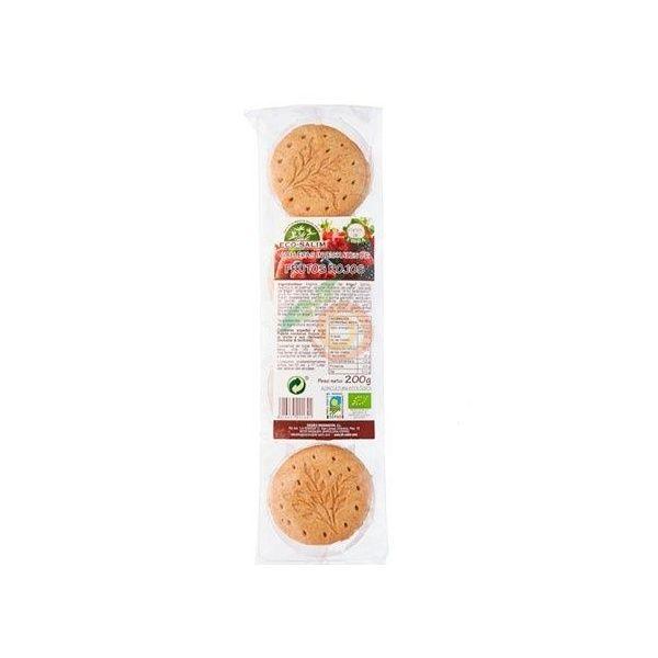 Galletas integrales con frutos rojos 200 gramos int-salim
