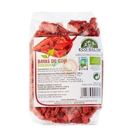 Bayas de goji eco 250 gramos int-salim