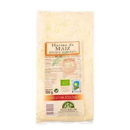 Harina de maíz integral eco 500 gramos int-salim