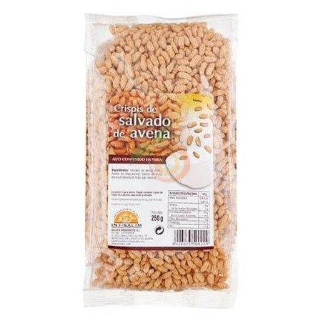 Crispis de salvado de avena 250 gramos int-salim