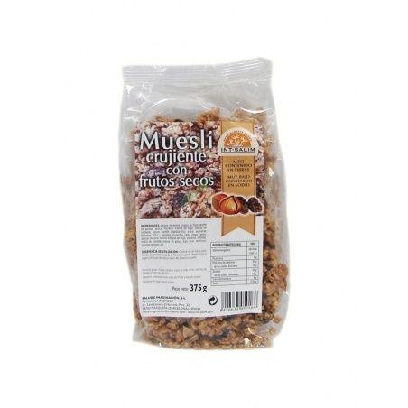 Muesli crujiente con frutos secos 375 gramos int-salim