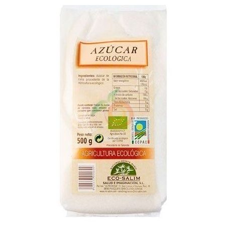 Azúcar blanco de caña eco 500 gramos int-salim