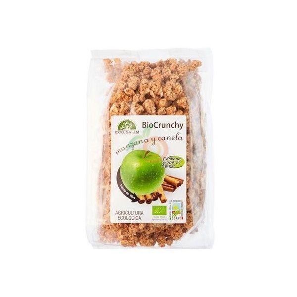 Muesli crunchy manzana y canela 250 gramos int-salim