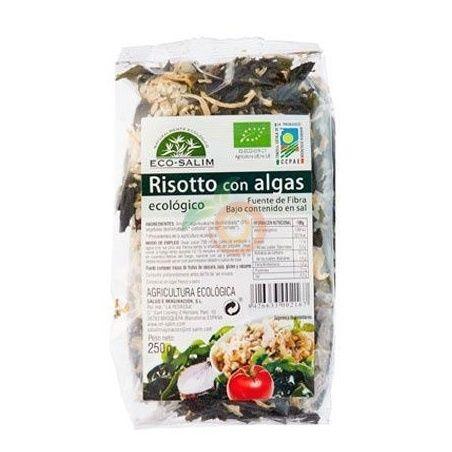 Risotto con algas eco 250 gramos int-salim