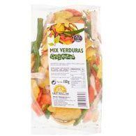 Mix verduras crujientes 150 gramos int-salim