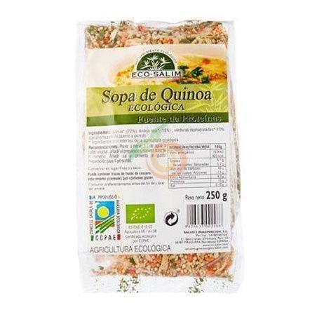 Sopa de quinoa eco 250 gramos int-salim