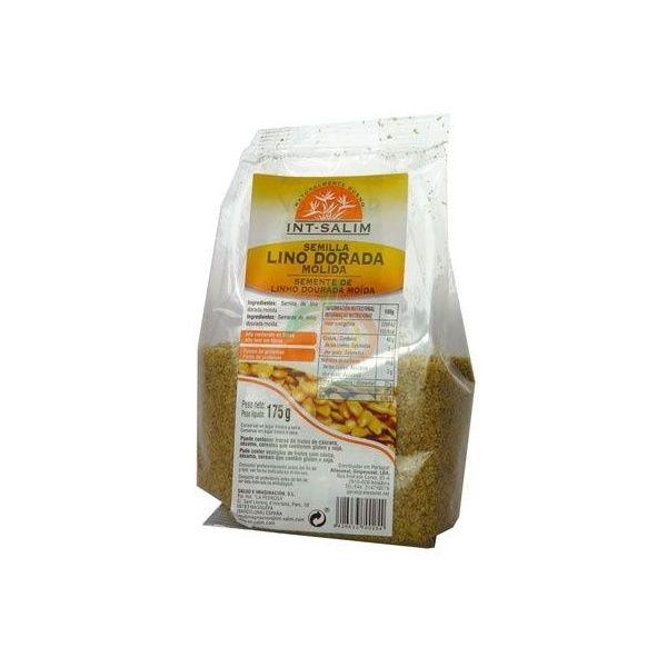 Semillas de lino dorada molidas 175 gramos int-salim