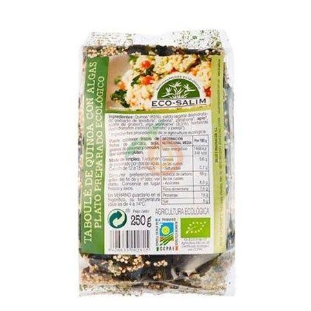 Taboulé de quinoa con algas 250 gramos eco-salim