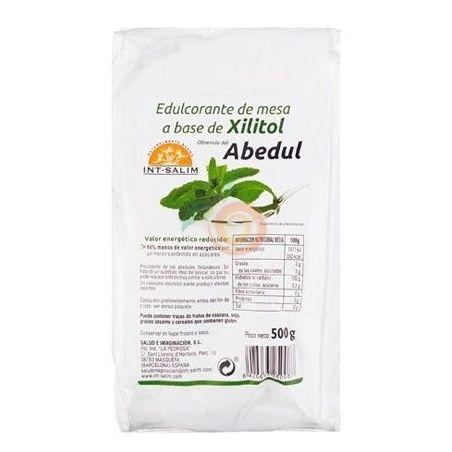 Edulcorante de mesa de xilitol del abedul 500 gramos int-salim