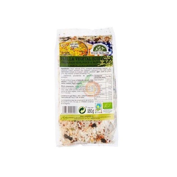 Paella vegetal ecológica 250 gramos eco-salim