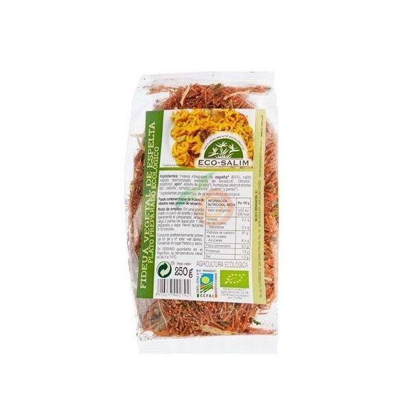 Fideua vegetal de espelta 250 gramos eco-salim