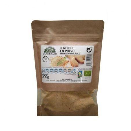 Jengibre en polvo 200 gramos eco-salim