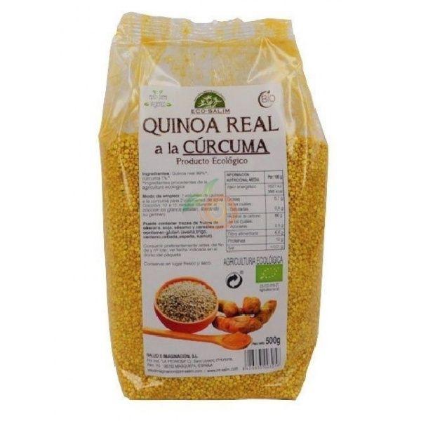 Quinoa real a la cúrcuma 500 gramos eco-salim