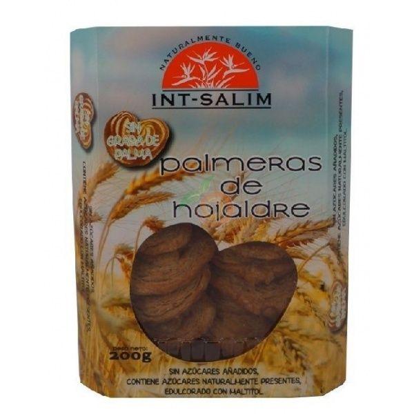 Palmeras de hojaldre 200 gramos int-salim