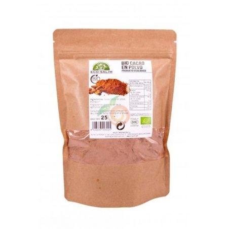 Cacao en polvo bio 250 gramos eco-salim