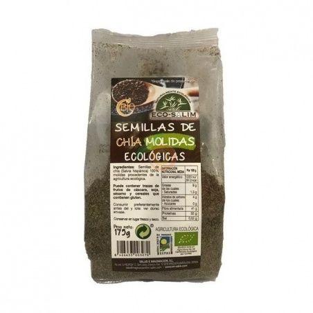 Semillas de chia molidas 175 gramos eco-salim