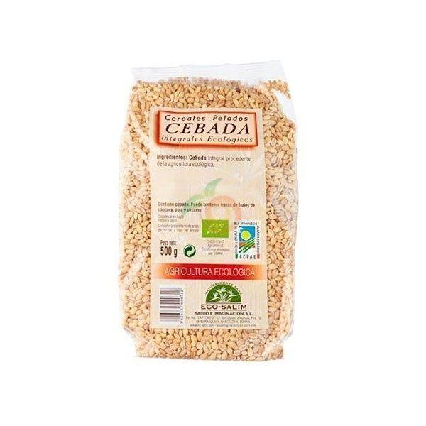 Cebada integral pelada eco 500 gramos eco-salim