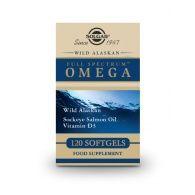 Full spectrum omega 120 cápsulas solgar