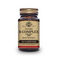 Vitamina b-complex 50 - 50 cápsulas solgar