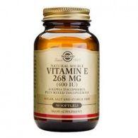 Vitamina e seca 268 mg 50 cápsulas solgar