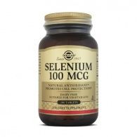 Selenio 100 mcg 100 comprimidos solgar