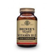 Levadura de cerveza con vitamina b12 - 250 comprimidos solgar