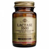 Lactasa 3500 - 30 comprimidos solgar