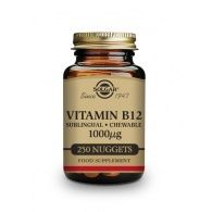 Vitamina b12 - 1000 mcg 250 comprimidos solgar