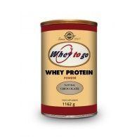 Whey to go proteína sabor chocolate 1162 gramos solgar
