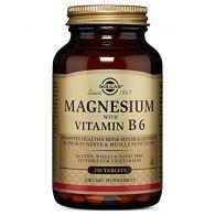 Magnesio con vitamina b6 - 250 comprimidos solgar