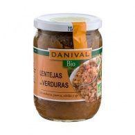 Lentejas con verduras 525 gramos danival