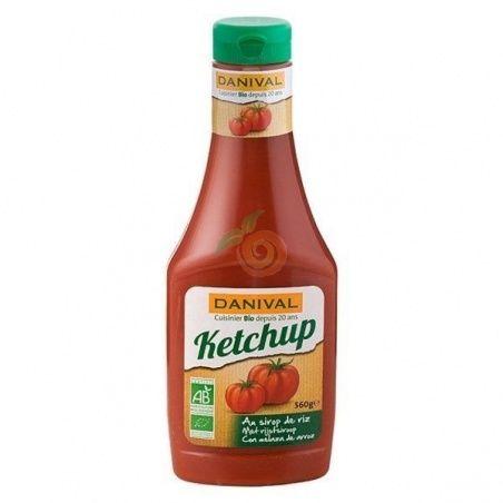 Ketchup bio 560 gramos danival