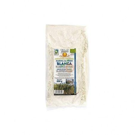 Harina de trigo blanca 500 gramos vegetalia
