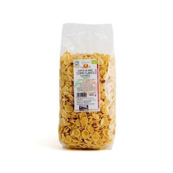 Corn flakes copos de maíz tostados 400 gramos vegetalia