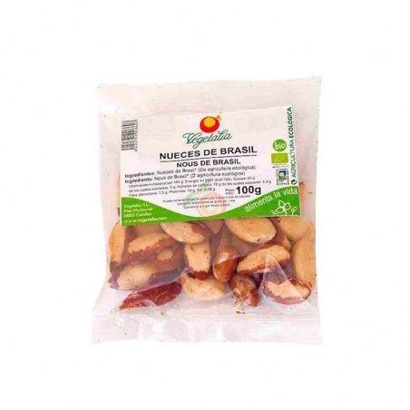 Nueces de brasil 100 gramos vegetalia