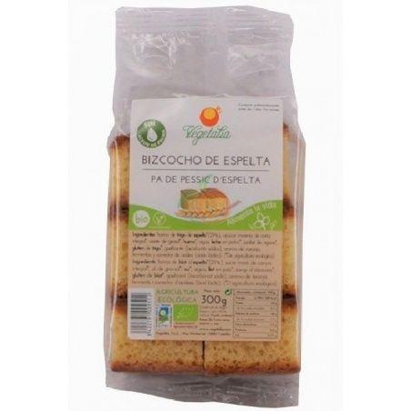 Bizcocho de espelta 300 gramos vegetalia