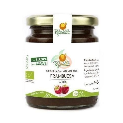 Mermelada de frambuesa 265 gramos vegetalia