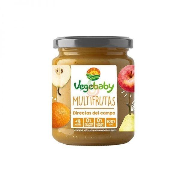 Multifrutas 190 gramos vegebaby