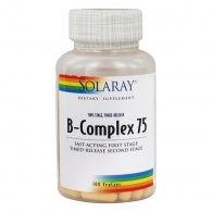 Vitamina b-complex 75 - 100 cápsulas solaray