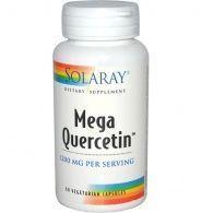Mega quercitin 1200 mg 60 cápsulas solaray